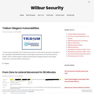 ArchiveBay.com - jimwilbur.com - Wilbur Security