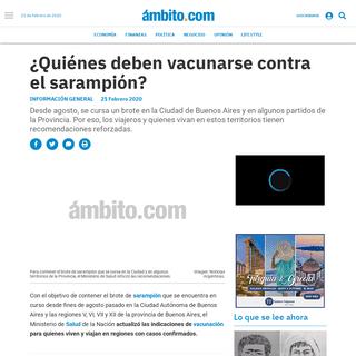 ¿Quiénes deben vacunarse contra el sarampión- - sarampión, Salud, vacunación