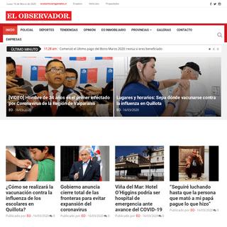 Diario El Observador – Noticias de Provincias de Quillota, Petorca, San Felipe, Marga Marga y Valparaíso.