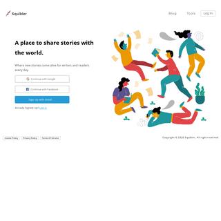 Squibler- The world's best writing platform