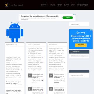 Tout Android - Astuce et actualité smartphone