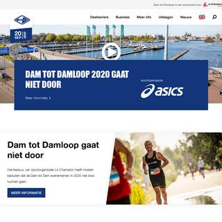 Dam tot Damloop - grootste hardloopevenement van Nederland