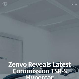 HOME - Zenvo Automotive A-S