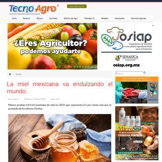 Revista Agrícola. TecnoAgro. Avances Tecnológicos y Agrícolas