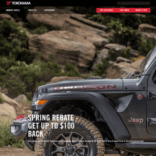 Yokohama Tires - Find New Tires for Cars, SUVs And Trucks