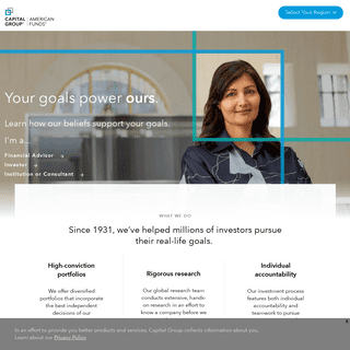 Home Page - Capital Group