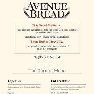 Avenue Bread