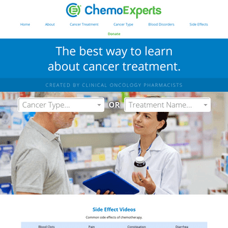 Learn about Cancer Treatment - ChemoExperts