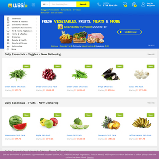 Online Shopping Sri Lanka- Wasi.lk Online Mall with Deals and Offers