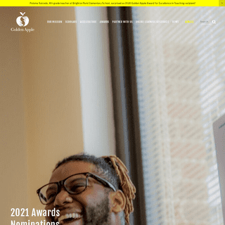 Golden Apple - Awards and Teacher Preparation Programs