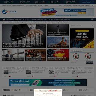 Vietstock - Tin chứng khoán, bất động sản, kinh tế đầu tư, tài chính và tiêu dùng