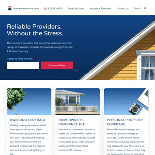 Homepage - Home Insurance