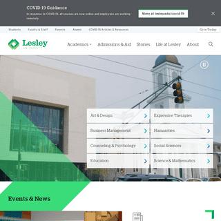 Lesley University - Lesley University