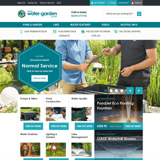 Water Garden UK - The Experts in Ponds and Water Gardening