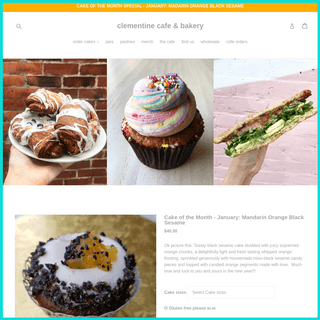 Clementine Cafe & Bakery – clementine cafe & bakery