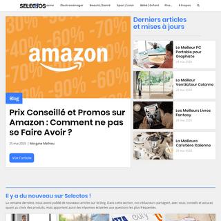 ArchiveBay.com - selectos.eu - Selectos - Conseils d'Achats, Comparatifs de Produits et Bons Plans