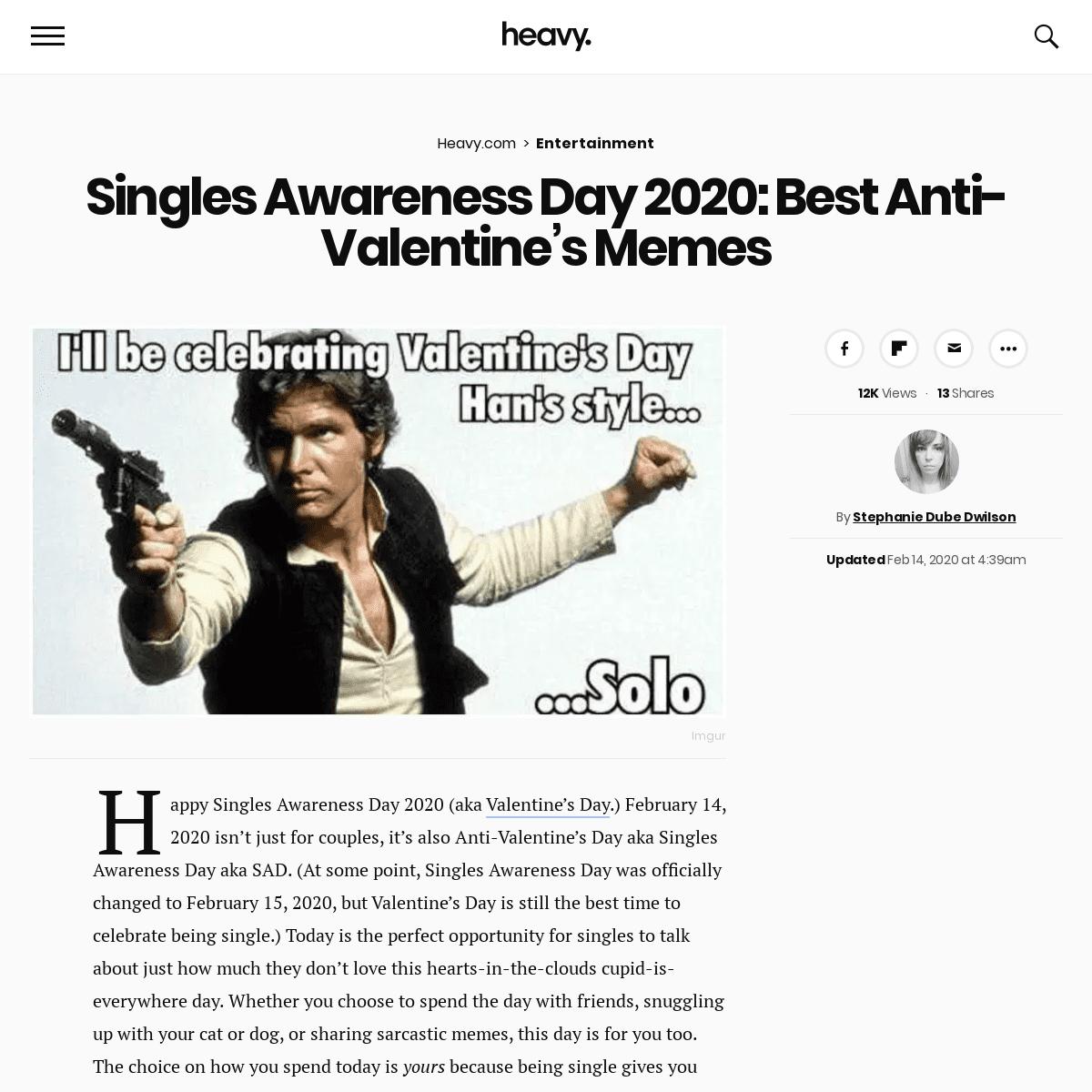 ArchiveBay.com - heavy.com/entertainment/2020/02/anti-valentines-single-memes-2020/ - Singles Awareness Day 2020- Best Anti-Valentine's Memes - Heavy.com