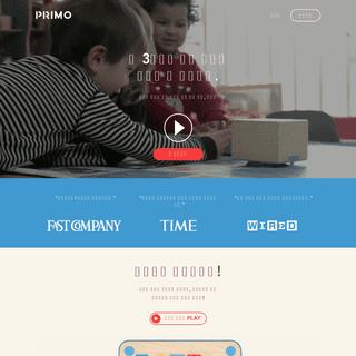 큐베토 플레이세트, 유아동(만 3세~) 영국 코딩놀이교구 - Primo Toys Korea