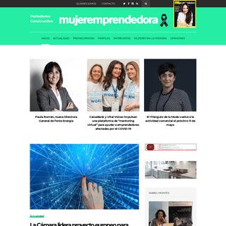 MujerEmprendedora – La primera revista de Europa para emprendedoras