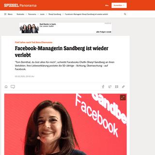 ArchiveBay.com - www.spiegel.de/panorama/leute/facebook-managerin-sheryl-sandberg-ist-wieder-verlobt-a-5bd47d41-c8f5-4782-9343-ae90f55e4153 - Facebook-Managerin Sheryl Sandberg ist wieder verlobt - DER SPIEGEL