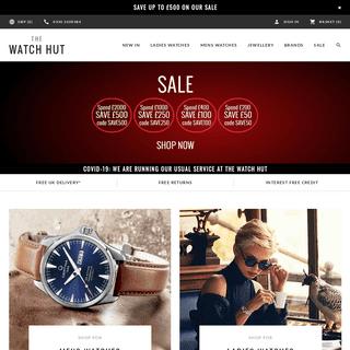 Watches - Designer & Luxury Watches Online UK - The Watch Hut