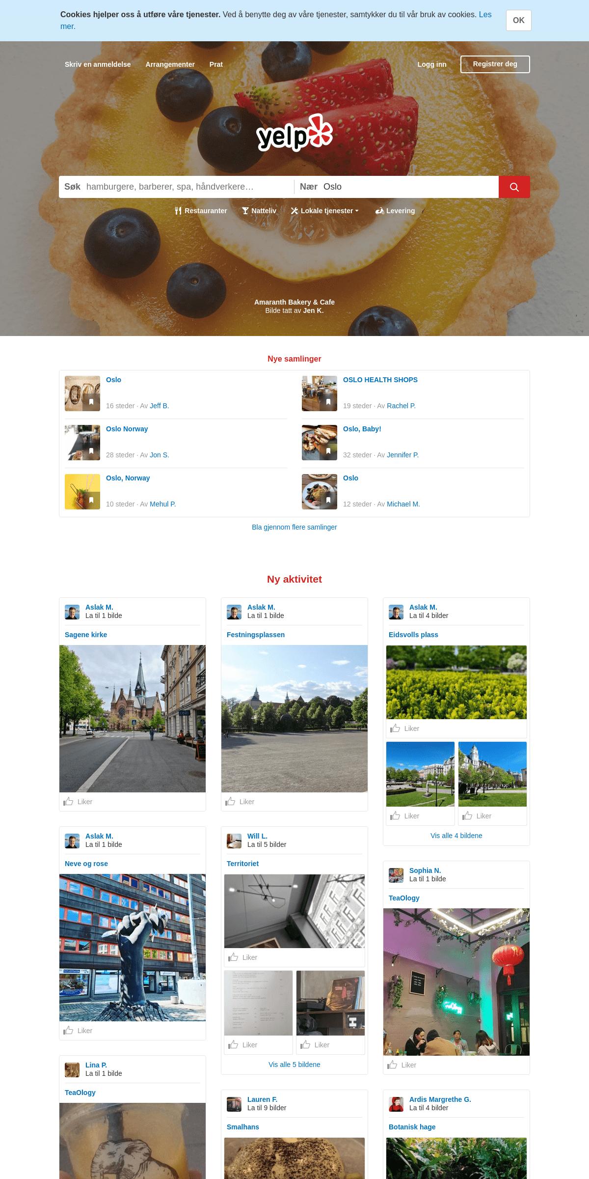 Oslo - Restauranter, tannleger, barer, skjønnhetssalonger, leger - Yelp