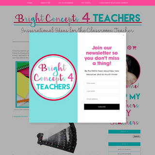 Bright Concepts 4 Teachers- Lesson Plans and Teaching Strategies