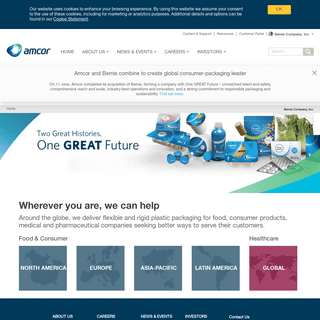 Bemis Packaging Solutions - Bemis Company, Inc.