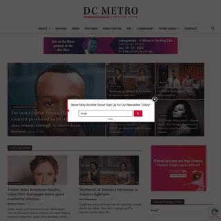 Home - DC Metro Theater Arts
