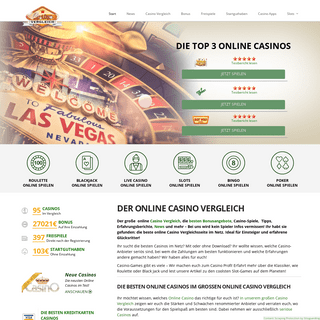 Online Casino Vergleich 🥇 +90 seriöse Online Casinos【2020】