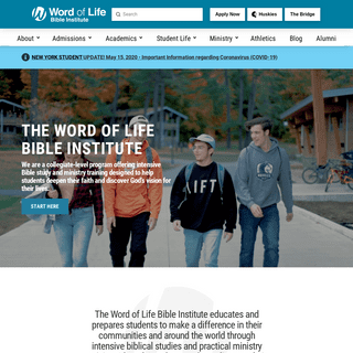 Home - Word of Life Bible Institute