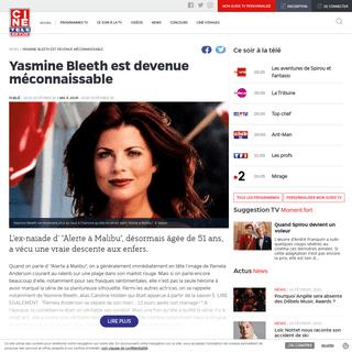 ArchiveBay.com - www.cinetelerevue.be/actus/yasmine-bleeth-est-devenue-meconnaissable - Yasmine Bleeth est devenue méconnaissable