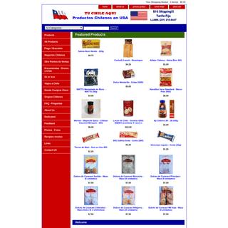 Chilean Products , Productos Chilenos en USA , Chilean Food, Chilean Cuisine , Comida Chilena. Food from Chile , Tienda Chilena.