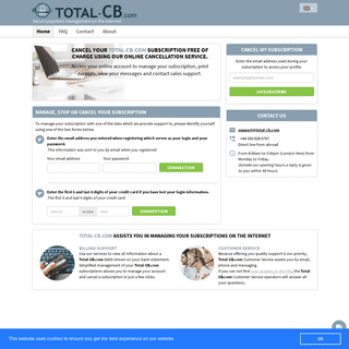 Total-CB.com, management of secure payments on the Inte...