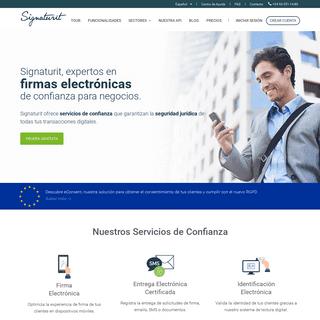 Soluciones de firma electrónica para empresas - Signaturit