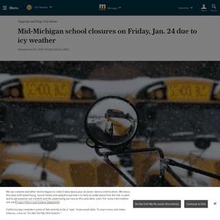 Mid-Michigan school closures on Friday, Jan. 24 due to icy weather - mlive.com