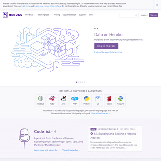 Cloud Application Platform - Heroku