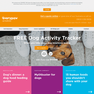 Pet Insurance, Cover and Plans - Everypaw