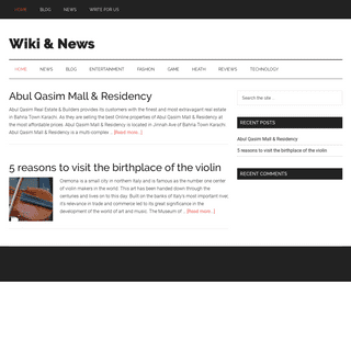Wiki & News – Get info and stay update