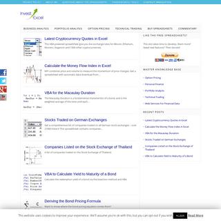 ArchiveBay.com - investexcel.net - Invest Excel -