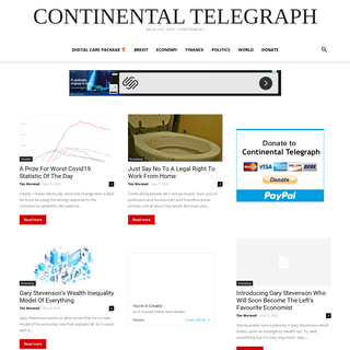 Continental Telegraph - Realist, Not Conformist