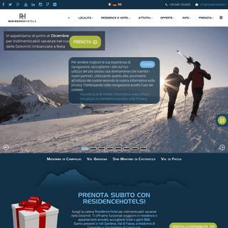 RESIDENCE HOTEL nelle Dolomiti vacanze in Trentino Altoadige