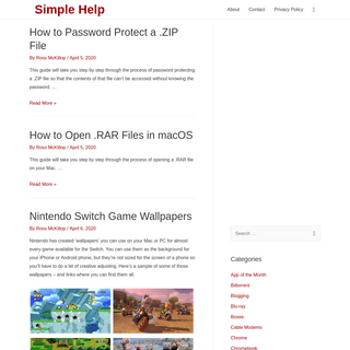 Simple Help – Common Questions, Simple Answers
