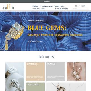 JewelleryNet.com - B2B online community for the international jewellery industry
