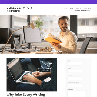 College Paper Service - Best Ideas to Supercharge Your College Papers