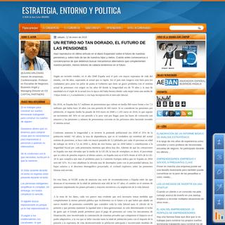ESTRATEGIA, ENTORNO Y POLITICA