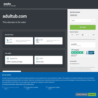adultub.com is available for purchase - Sedo.com