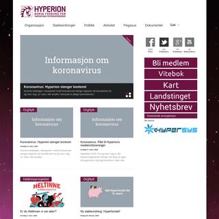 Hyperion - Norsk Forbund for Fantastiske Fritidsinteresser
