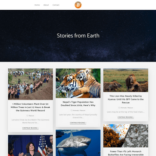Earthables – Stories from Earth