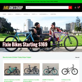 Fixed Gear Biggest Bike Shop – Mr. Bikes